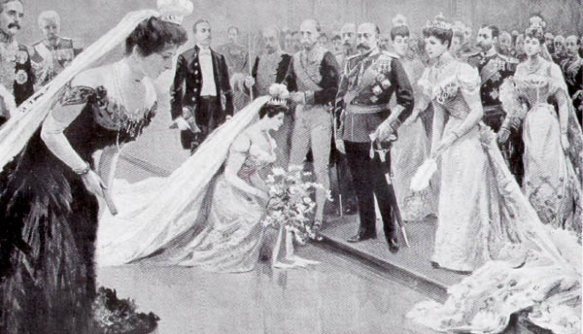A-court-presentation-before-Edward-VII-and-Queen-Alexandra-1