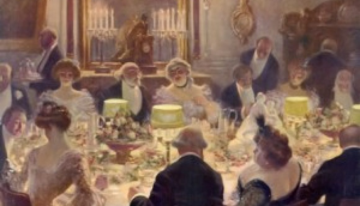 An-Edwardian-dinner-party