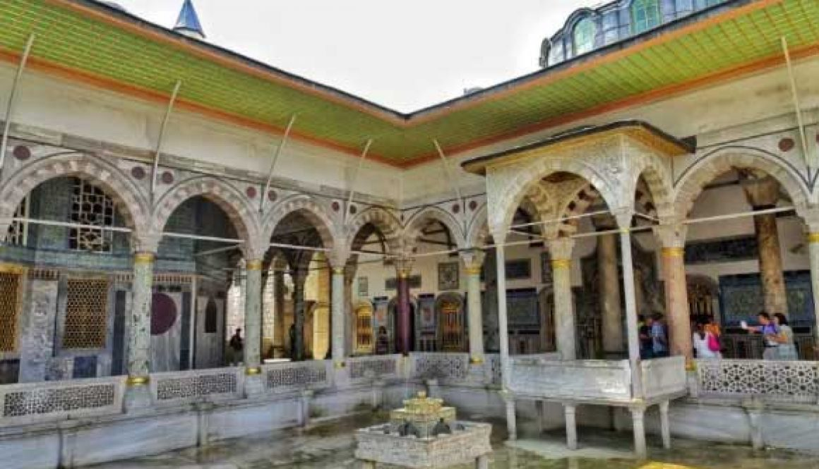 Another courtyard in the imperial harem