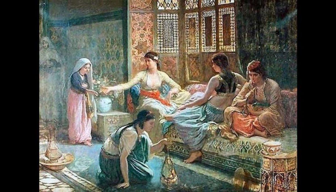 Ottomen women in the harem