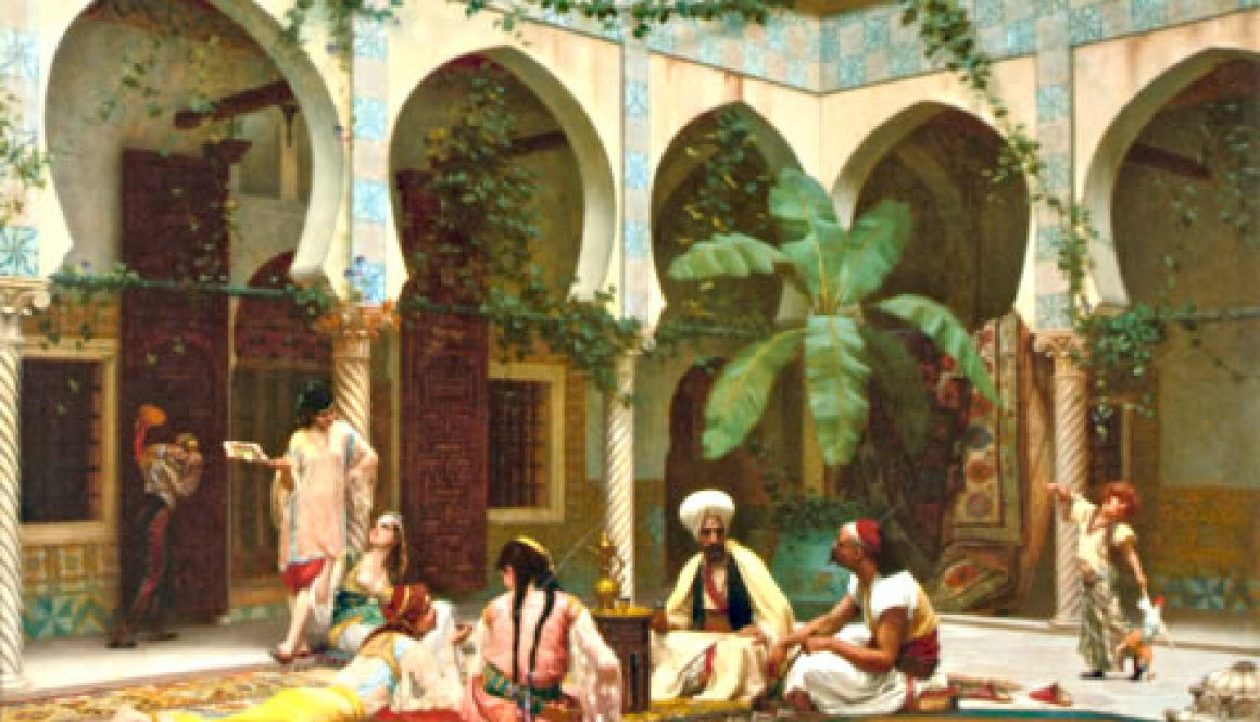 The harem itself was an institution governed by a strict hierarchy – a hierarchy so extensive and intricately layered