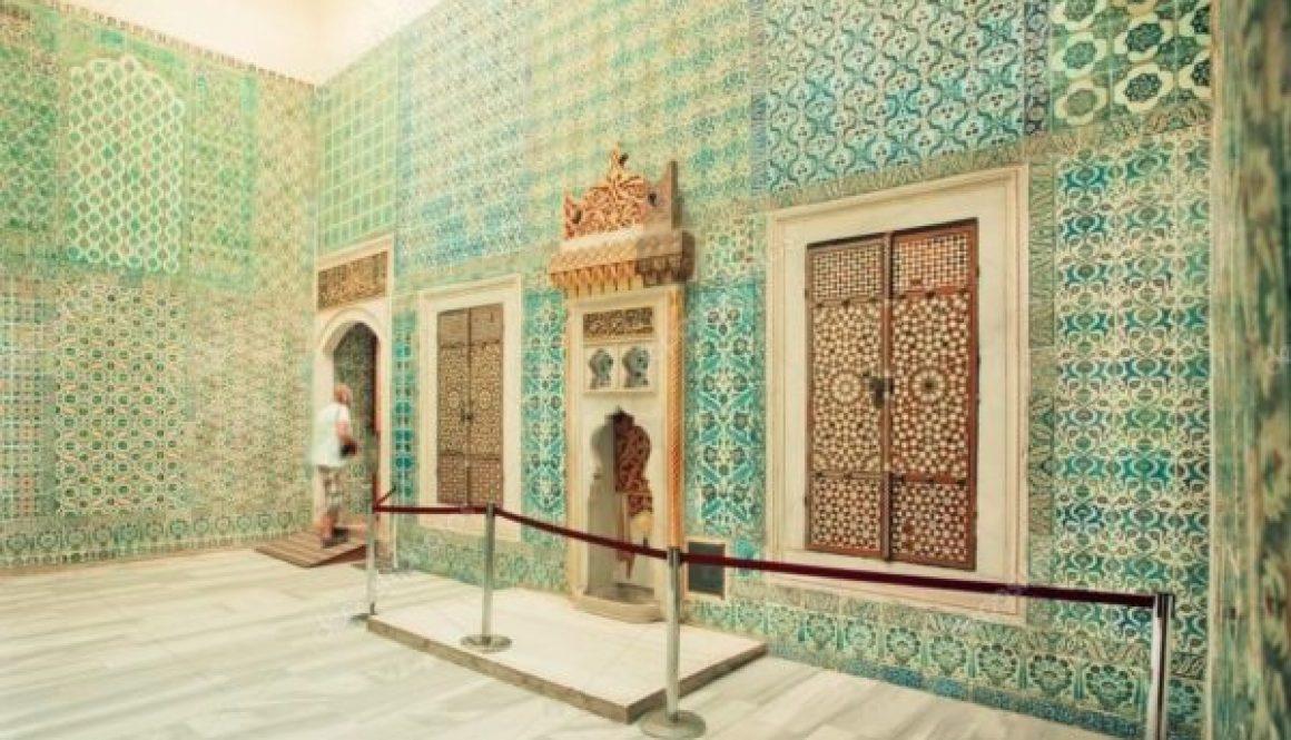 The magnificent Iznik tiling
