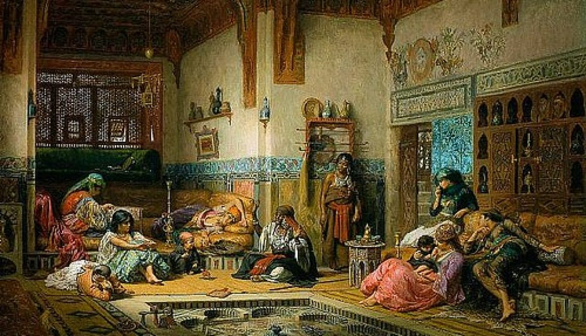 leisure time in the harem