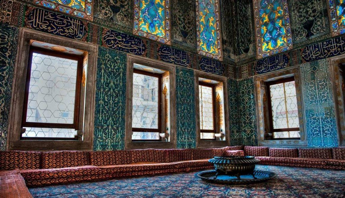 sitting area in harem