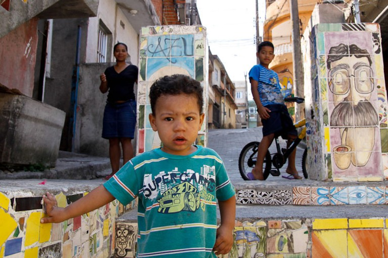 Children in favela
